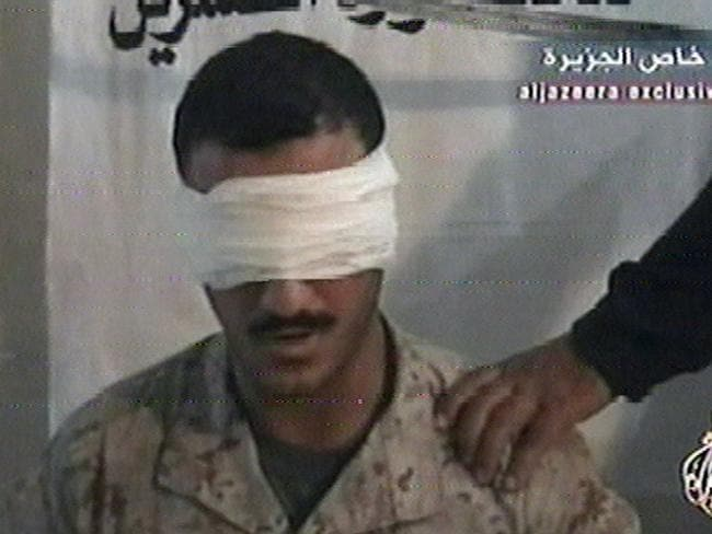 """Fellow Marines allege Hassoun's """"abduction"""" has been faked. Cpl Hassoun has denied deserting. Picture: AP"""