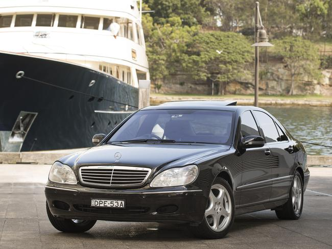 One of the wedding cars on the day of his 2003 marriage to Danielle Spencer is up for grabs.