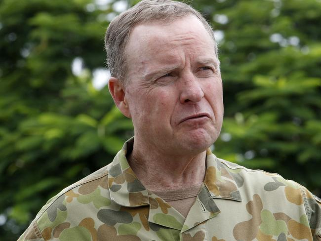 Happy with progress of women in the Army ... Chief of Army, Lieutenant General David Morrison.