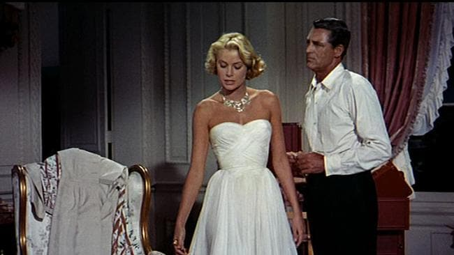 Grace Kelly and Cary Grant film a scene in To Catch a Thief, the last move she made.