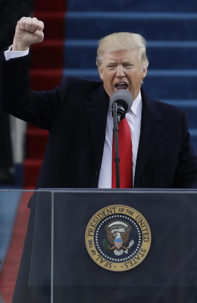 Trump Inauguration 2017 A New Vision Will Govern Our Land