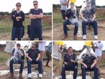 Tom Cruise and Chris McQuarrie MISSION IMPOSSIBLE ALS Ice Bucket Challenge.. VIEW VIDEO Picture: You Tube