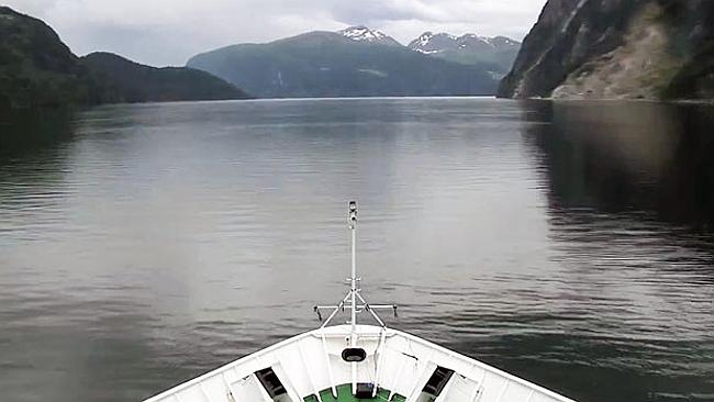 Reality TV Norwegian-style ... A five day screening of a boat trip to Norway's fjords was watched by half the population.