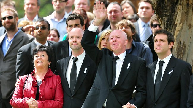 Jill Meagher family funeral