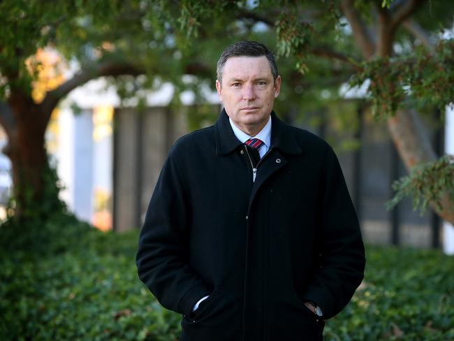 Australian Christian Lobby managing director Lyle Shelton in Canberra. Picture Kym Smith