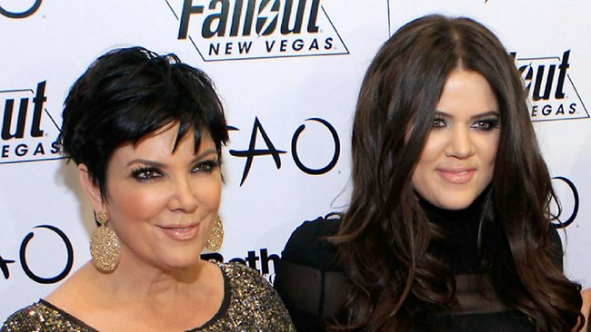 Kris Jenner and daughter Khloe