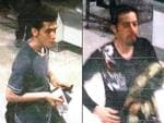 This combination of images released by Malaysian police during a news conference in Sepang, Malaysia, on Tuesday, March 11, 2014, shows an Iranian identified by Malaysian Police as Pouria Nour Mohammad Mehrdad, who Malaysian authorities say is 19, although Interpol's information indicated an age of 18, left, and 29-year-old Iranian Delavar Seyedmohammaderza. The men boarded the now missing Malaysia Airlines jet MH370 with stolen passports. Picture: AP