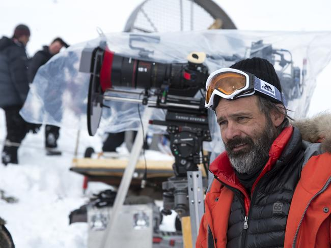 At the helm ... Everest director Baltasar Kormákur said he didn't believe his film strayed too far from reality. Picture: Supplied.