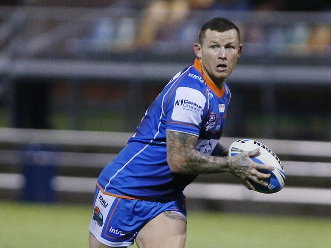 Todd Carney in action for the Pride.