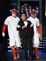 Host Stephen Colbert speaks onstage during the 69th Annual Primetime Emmy Awards at Microsoft Theater on September 17, 2017 in Los Angeles, California. Picture: Getty