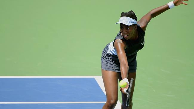 Montreal finalist Venus Williams also bowed out early