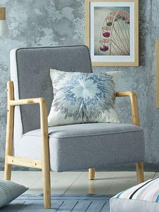 The grey armchair sold out within seconds in Aldi's Chatswood store.