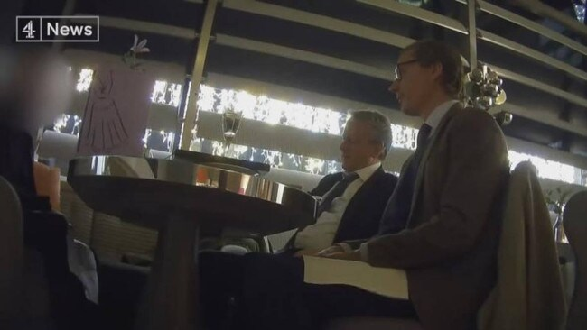 Hidden camera footage exposed Cambridge Analytica's practises for influencing elections.