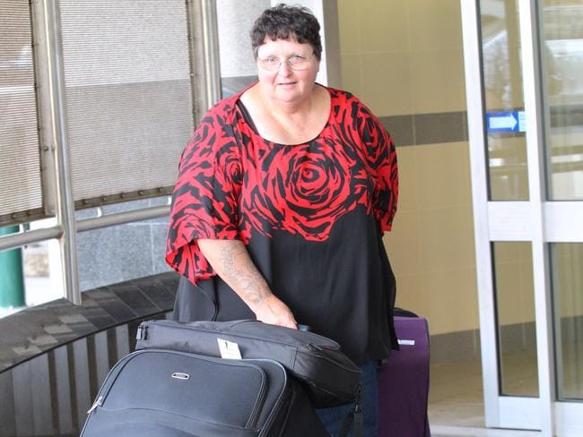 Wendy Janine Baulch was arrested after stepping off the cruise ship. Picture: Philip Norrish