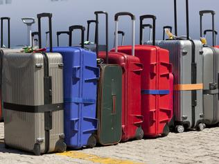TASTER CRUISES .. luggage lined up and ready to be loaded onto a cruise ship. Picture: iStock
