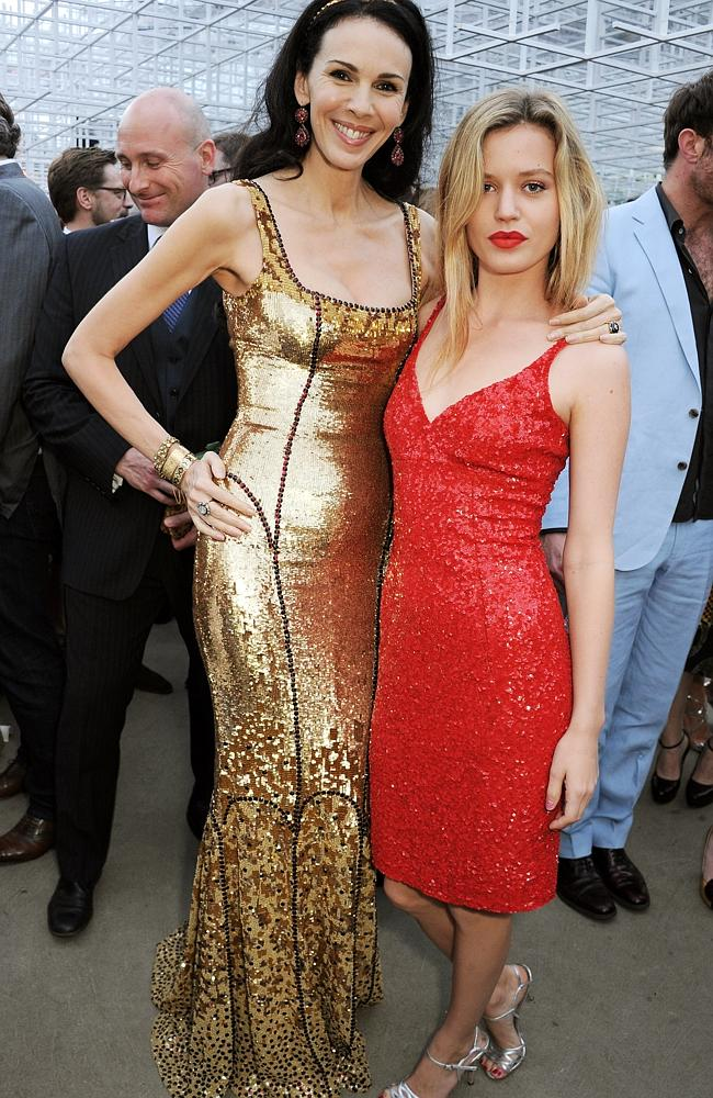 L'Wren Scott and Georgia May Jagger picture in London at last June's Serpentine Gallery S
