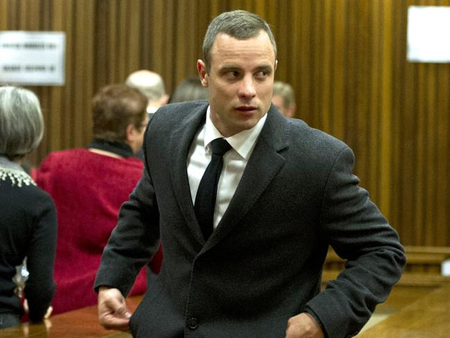 Suspect ... Oscar Pistorius is accused of murdering his girlfriend, Reeva Steenkamp, on February 14, 2013. Picture: Getty Images