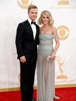 TV personality Derek Hough and actress Julianne Hough. Picture: Getty