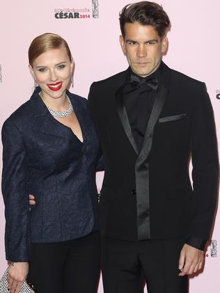 Scarlett Johansson and Romain Dauriac are expecting their first child.