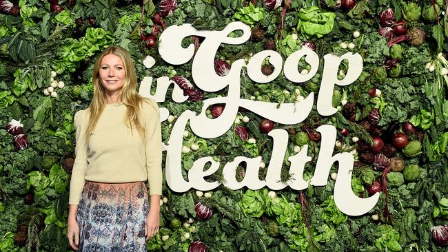 This isn't the first time Paltrow's website has been under fire for controversial wellness advice. Picture: Ilya S. Savenok/Getty Images
