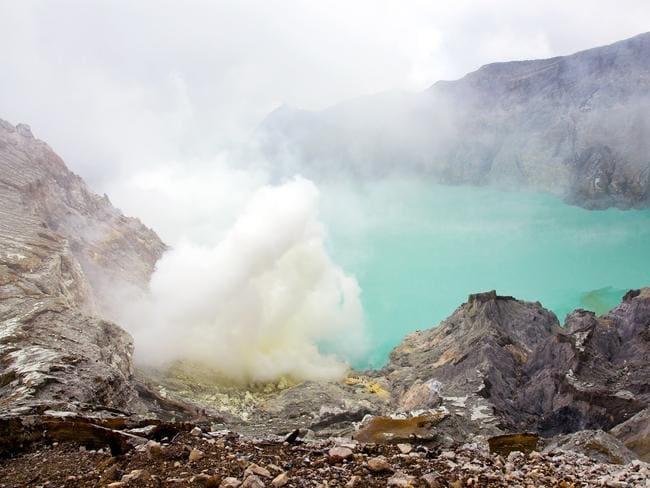 Ijen Crater in Banyuwangi.