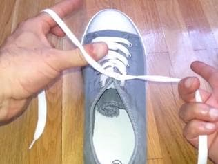 Tie your shoelaces in 1.5 seconds