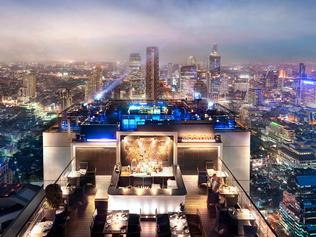 ESCAPE: 10 reasons to visit Thailand in 2017 - Moon Bar. Banyan Tree Bangkok. Picture: Banyan Tree Hotels & Resorts