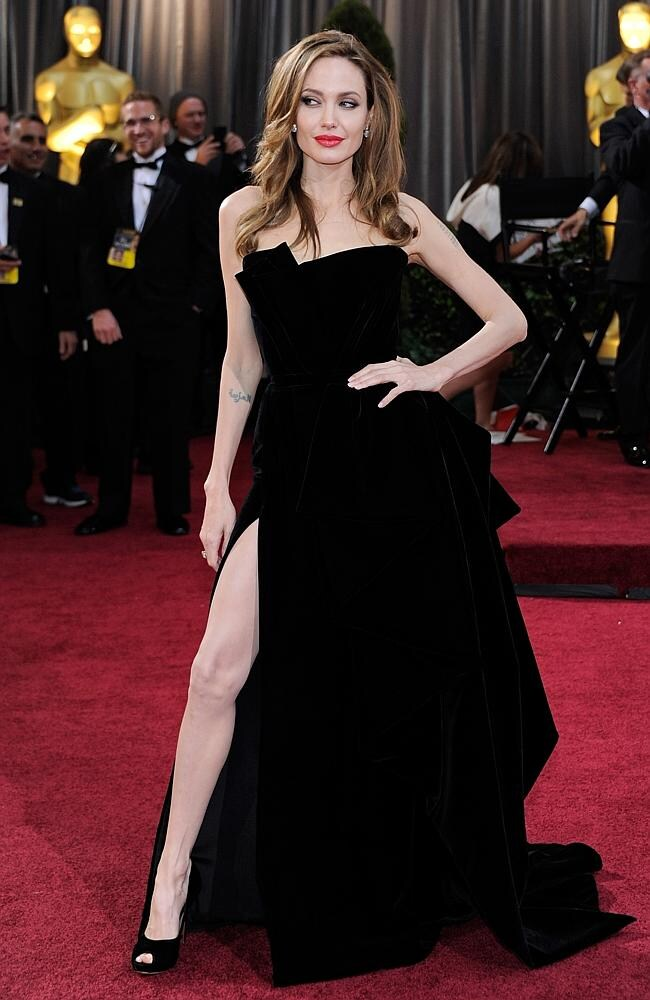 You'd have to be a brave Oscar attendee to replicate this much-mocked pose at tomorrow's ceremony. Picture: Getty Images