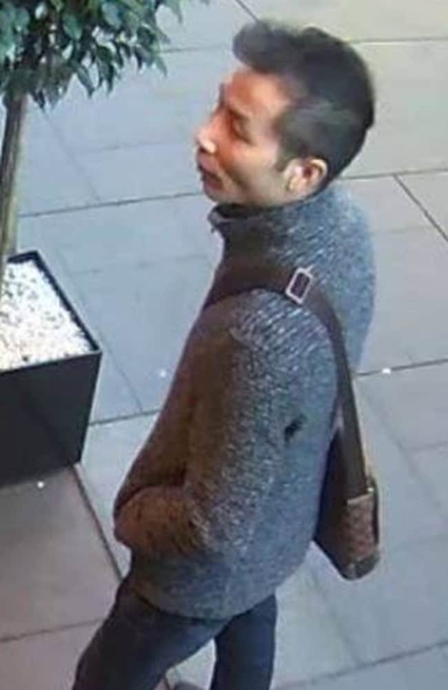 The man allegedly switched the diamond with a fake. Picture: NSW Police