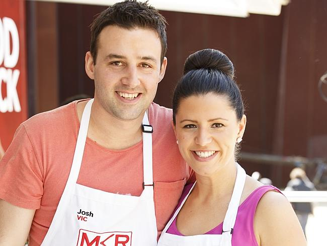 Victorian contestants Josh and Danielle are out of the MKR competition.