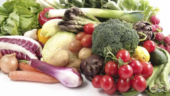 Eat fruit and veggies before 6pm. Picture: Supplied
