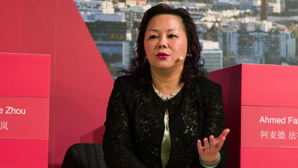 Alibaba Group managing director Maggie Zhou. Picture: Paul Jeffers