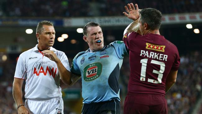 Gallen has become a symbol of the sort of commitment NSW need to best Queensland.