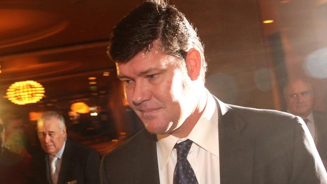 Billionaire James Packer has enlisted a raft of Hollywood heavyweights to promote his resorts. Picture: AFP