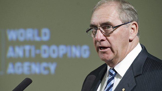 World Anti-Doping Agency boss John Fahey, a former Canterbury Bulldog, isn't surprised the blame game has already started.