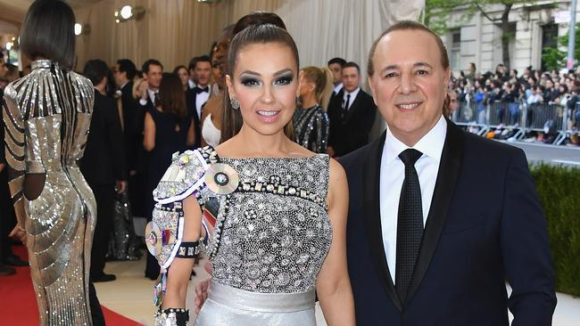 Tommy Mottola and his wife, Thalia, in May 2016.