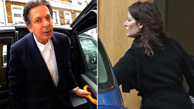 Charles Saatchi has been cautioned after photographs showing him grabbing wife Nigella Lawson's throat were published in The Sunday People.