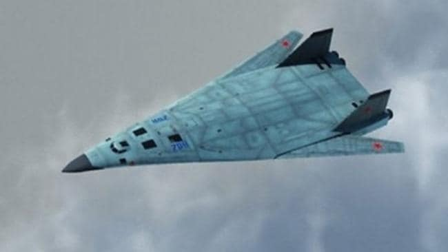 Death from above ... A concept image for Russia's new PAK DA stealth bomber. Source: Supplied