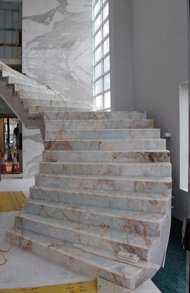 Mehajer failed to pay the $596,178 invoice he received for a lavish staircase he had installed in his house.