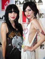 <p>The Veronicas at MTV Awards photo call at the Hilton Hotel. Pic. Cameron Richardson</p>
