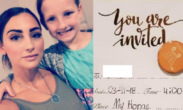 Girl plans her own 9th birthday party without mum's knowledge
