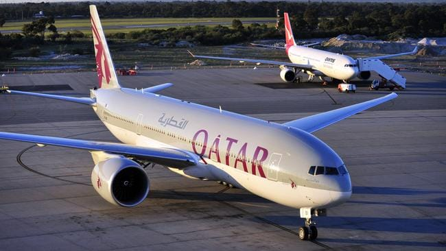 A Qatar Airways plane on the tarmac.  The only factor you will have to by no means tackle a aircraft b96cf00dbb82932f643d13b9040cbe9b
