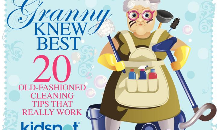 Granny knew best: 20 old-fashioned cleaning tips that work