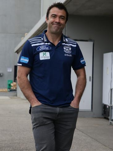 Geelong coach Chris Scott has criticised Kane Cornes' comments about Patrick Dangerfield's foot injury. Picture: Peter Ristevski