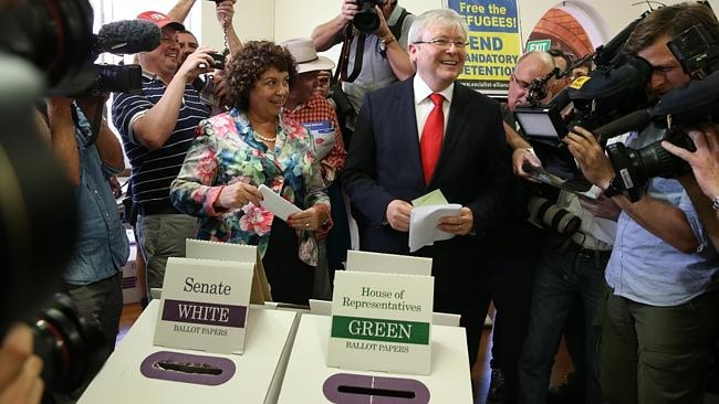 "Kevin Rudd ran a ""frantic'' and ""frenzied'' 2013 election campaign, a Julia Gillard supporter says."