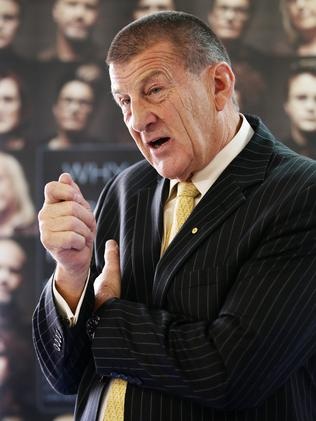 Racism 'ruins lives' ... BeyondBlue chairman Jeff Kennett. Picture: Norm Oorloff