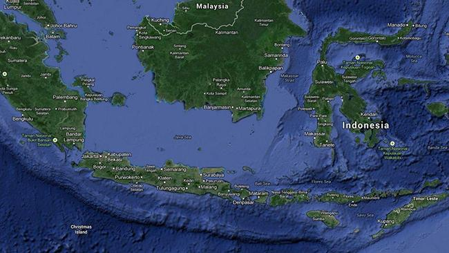 Indonesia: the archipelago nation has some of the world's best surf breaks. Picture: Google Maps