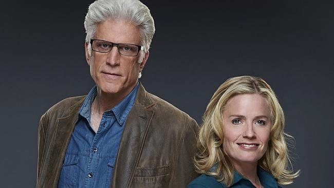 Crime fighters ... Ted Danson and Elisabeth Shue star in CSI: Crime Scene Investigation. Picture: Channel 9
