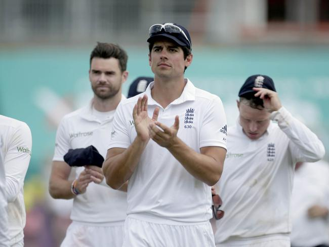 England captain Alastair Cook was pleased with his side's effort, and his own.