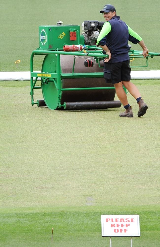 The MCG will continue to use drop-in pitches for cricket.